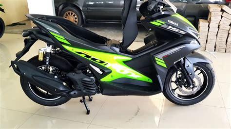 New Yamaha Aerox 155cc
