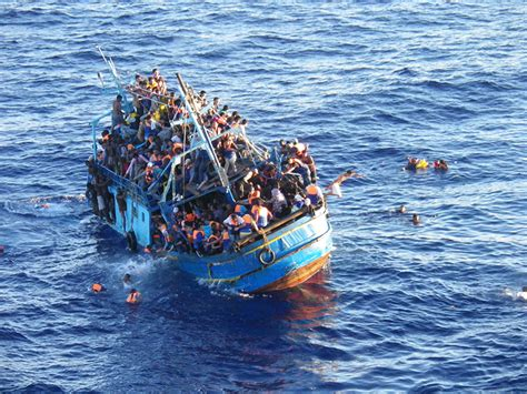 Immigrant Boat by Immigrant Boat Sinks Killing 21 In The Black Sea