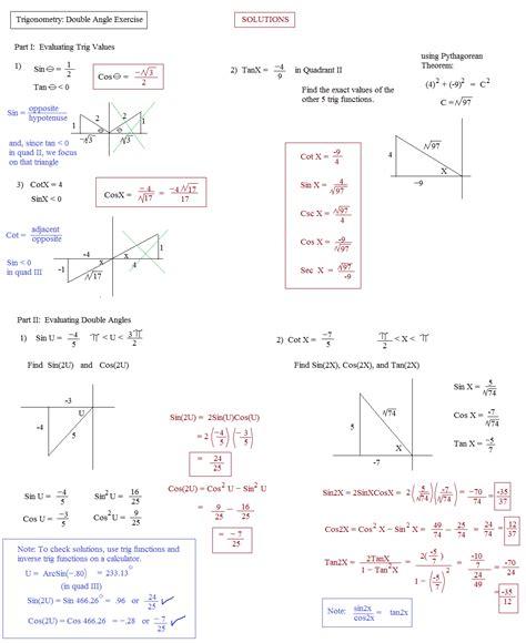 math plane trig identities ii angles
