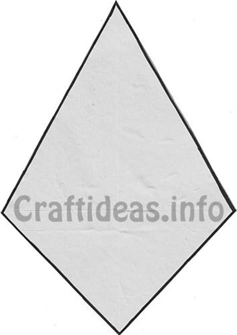 fall craft template kite pattern