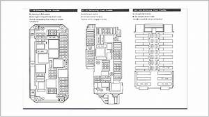 Mercedes Benz 2010 E550 Fuse Box Diagram