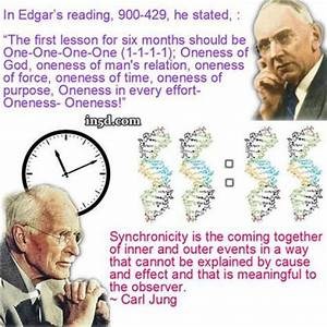 Carl Jung - The... Jungian Synchronicity Quotes