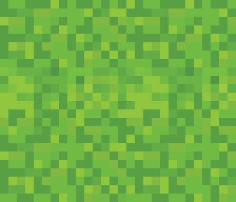 Grass is nearly identical to dirt dirt/grass is required for plants like saplings to grow. Colorful fabrics digitally printed by Spoonflower - 8-bit ...