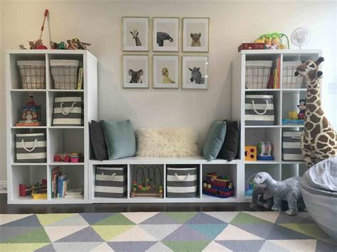 toy storage ideas  living room mommy tea room