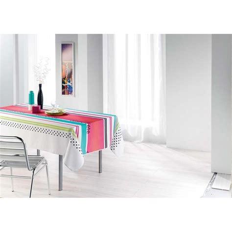 nappe cuisine nappe cuisine d 39 été blanc 150x240cm