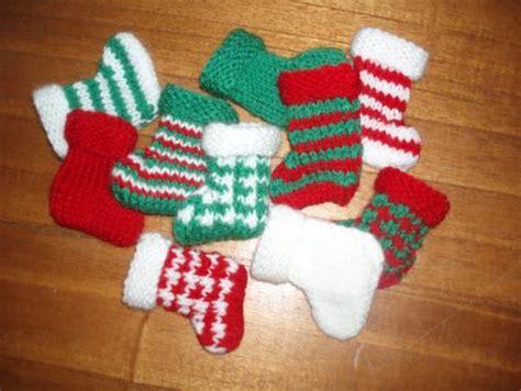 decoration de noel en tricot