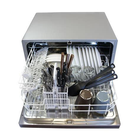dishwasher with countertop spt countertop dishwasher white appliances