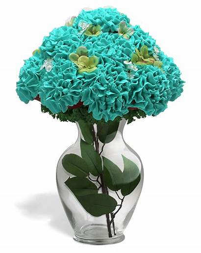 Bouquet Cupcake Flower Bouquets Hydrangea Boxes Bestest
