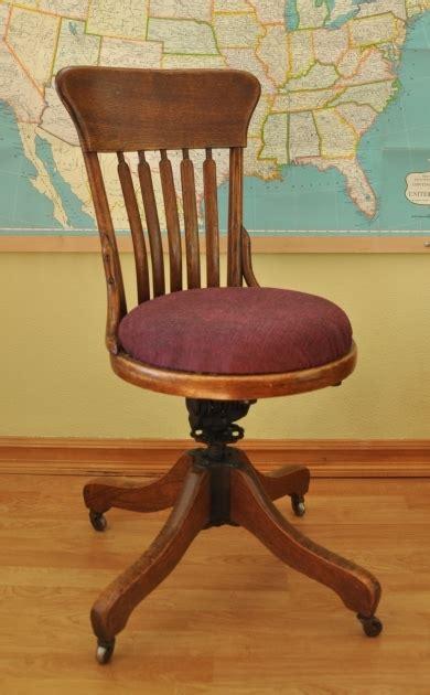 wooden swivel desk chair antique wooden swivel desk chair image 04 chair design