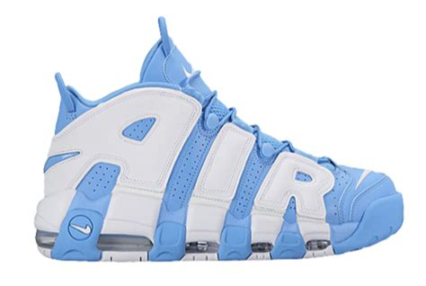 Light Up Air Jordans by The Nike Air More Uptempo Will Be Releasing In Sky Blue
