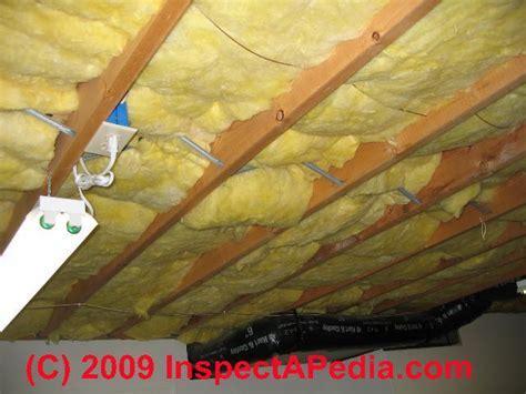 Vapor Barriers: Basement Ceiling/Wall Moisture Barrier