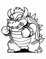 Bowser Coloring Pages Printable Airship Drawing Mario Jr Dry Bestcoloringpagesforkids Paper Koopa Template King Clipartmag sketch template