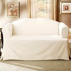 Housse Clic Clac Blanche : housse de canape blanc ~ Teatrodelosmanantiales.com Idées de Décoration