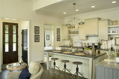 galley kitchen for the model home 3703