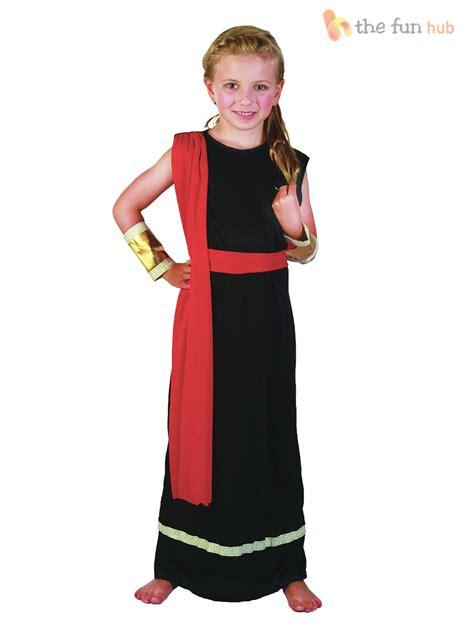 Boys Girls Ancient Roman Greek Caesar Toga Costume Childrens Kids Fancy Dress | eBay