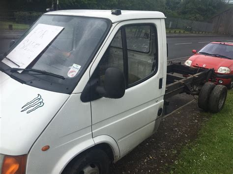 ford transit chassis cab wheel 2 5 diesel mk3 facelift 9 months mot willenhall dudley
