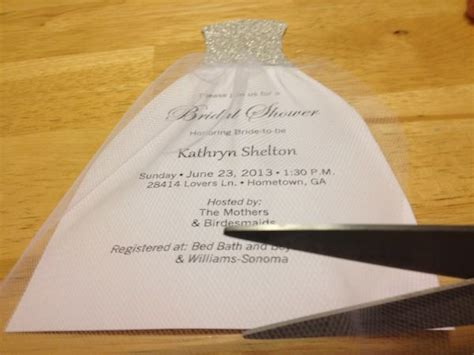 how to diy bridal shower invitations we tie the knots just in case for my kids