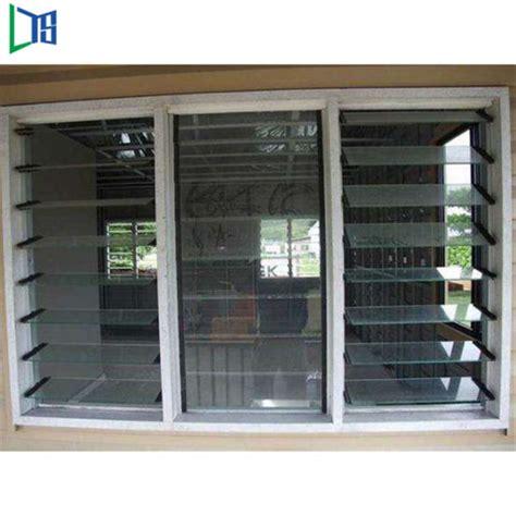 china tempered glass jalousie windows   philippines aluminum sliding glass louver windows