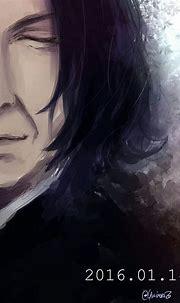 "severus-snape-my-eternal-prince: ""Artwork by ゆうい. Homage ..."