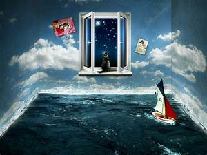 Wallpapers For Rooms Designs With Awesome Sea Landscape ...