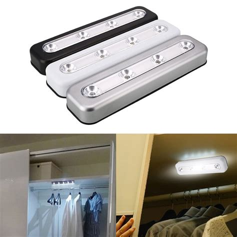 home kitchen led cabinet closet push tap touch stick on