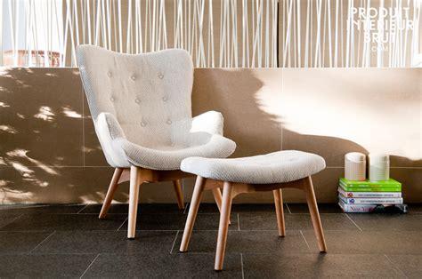 déco style scandinave fauteuil colombine repose pied inclus trois coloris disponibles