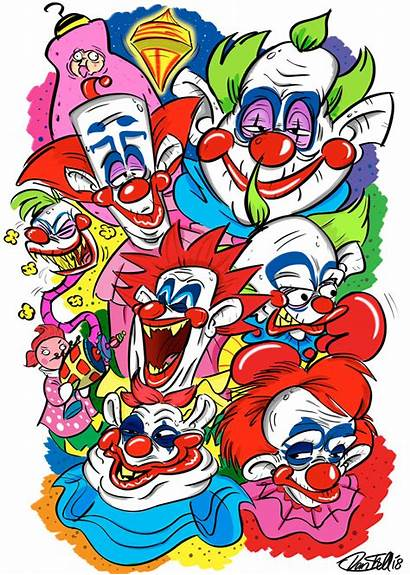 Klowns Killer Outer Space Deviantart Drawings Drawing