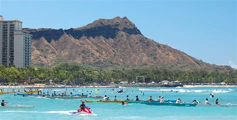 Diamond Head Volcano Oahu Island Honolulu Hawaii
