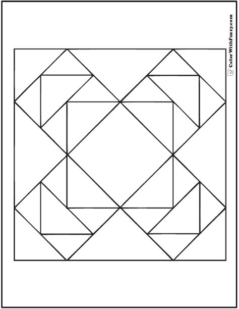 easy quilt coloring pages coloring pages