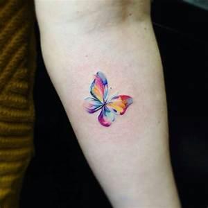 Kleiner Schmetterling Tattoo : 25 tatuajes de mariposas que simbolizan una metamorfosis lista para una nueva etapa ~ Frokenaadalensverden.com Haus und Dekorationen