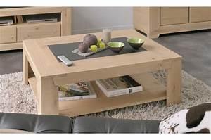 Table Basse Moderne : table basse salon bois clair ~ Preciouscoupons.com Idées de Décoration