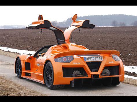 fast cars gumpert apollo top sports car