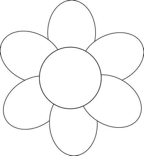flower template  printable google search molde