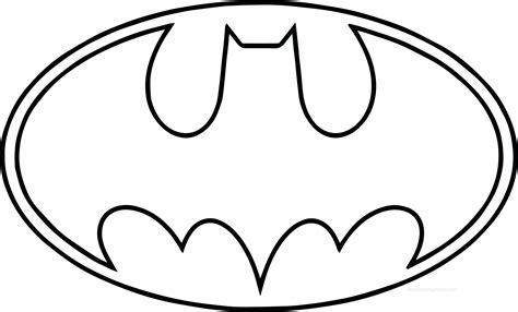 Batman Symbol Coloring Page Prestatupiernacom