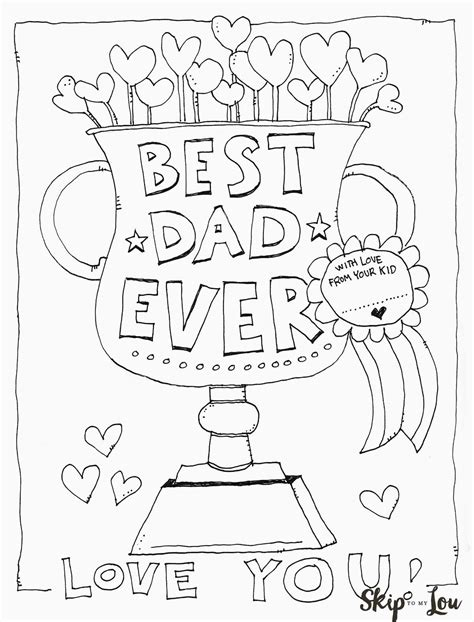 Father's Day Coloring Pages | Fathers day coloring page ...
