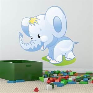 Wandtattoo Elefant Kinderzimmer : wandtattoo babyzimmer tiere ~ Sanjose-hotels-ca.com Haus und Dekorationen