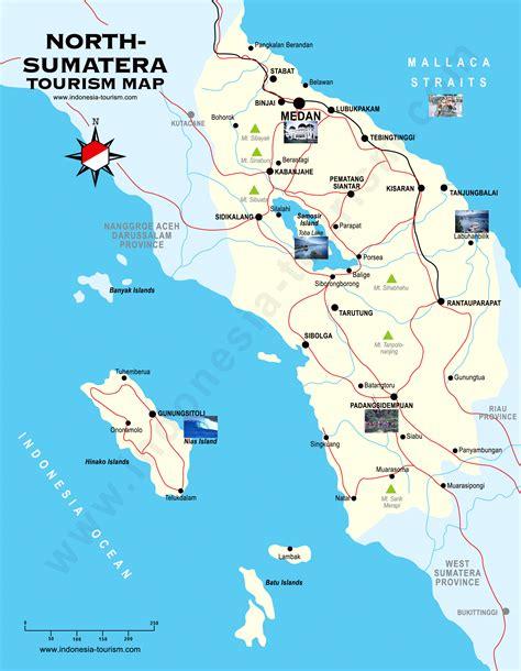 north sumatra map peta sumatera utara