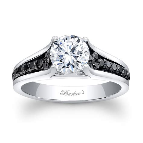 princess cut black ring barkev 39 s black engagement ring 7698lbk barkev 39 s