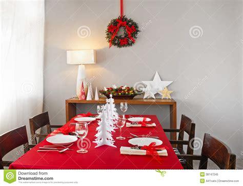 christmas dinner table setup christmas dinner table setup royalty free stock photo image 38747245