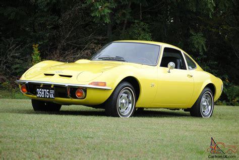 opel car 1970 opel gt original ca car 3rd owner auto