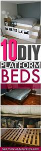 DIY IKEA Kitchen Cabinet Platform Bed Instructions - DIY ...