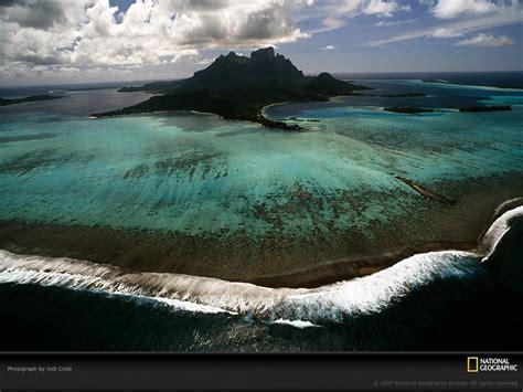 Fond Decran Bora Bora Wallpaper