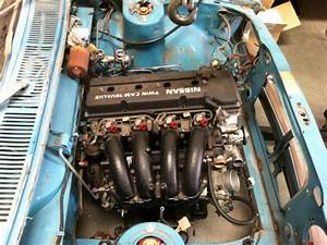 Datsun 510 Wagon Ka24de Engine With Vq35hr Motor In Crate