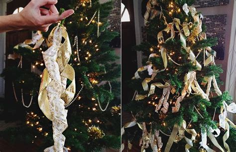 five ways to thicken a christmas tree for under 3 aunt peaches aunt and christmas tree