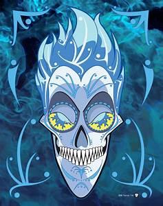 Hades Sugar Skull 11-by-14 Poster Print | Chupamacabre