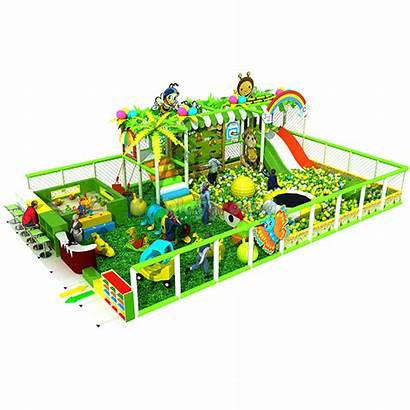 Playground Amusement Indoor Park Thmed Pit Jungle