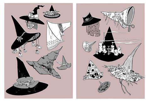 witch hats  httpswwwdeviantartcomklenalom