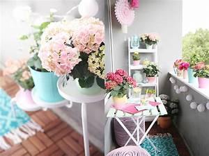 einmal alles in pastell bitte diy balkon umstyling mit With französischer balkon mit sonnenschirm basteln vorlage