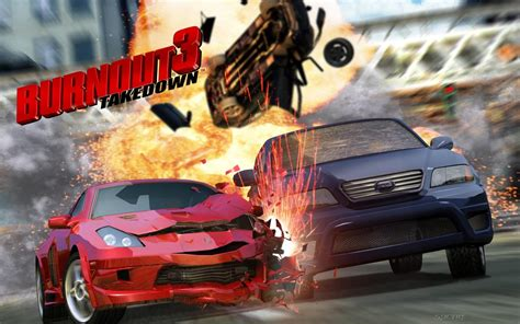 wallpapers burnout  takedown ps