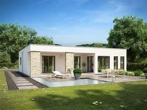 Flachdach Bungalow Hausliche Verbesserung Rensch Haus